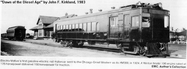Electro Motive Diesel >> Railroad Timeline History